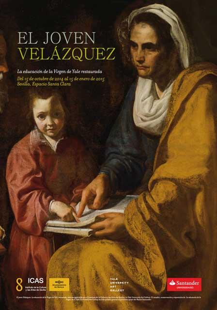 Se expone la educación de la virgen de Yale restaurada en el espacio de Santa Clara. Esta exposición ha sido posible gracias al convenio de colaboración firmado entre el Instituto de la Cultura y las Artes del Ayuntamiento de Sevilla y la Yale University Art Gallery.