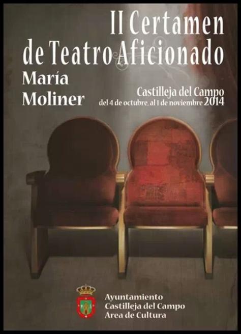 II certamen de Teatro Aficionado María Moliner