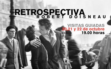 La Térmica de Málaga presenta desde el 10 de Octubre hasta Enero la exposición Robert Doisneau (DUANÓ) .Retrospectiva con una selección de sus mejores fotografías, elegidas por sus herederos y los responsables de su legado.