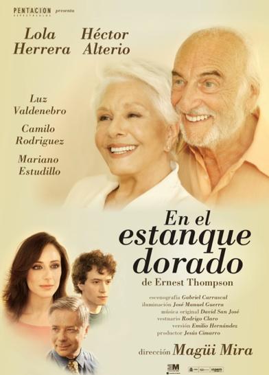 """Jaén nos trae a Lola Herrera y Héctor Alterio en la obra de teatro """"El estanque dorado"""" el 14 de Noviembre en el Nuevo Teatro Infanta Leonor."""