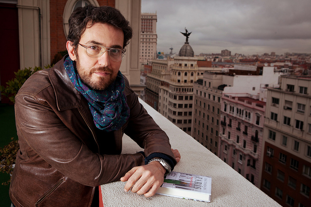 Máxim Huerta como escritor de novelas