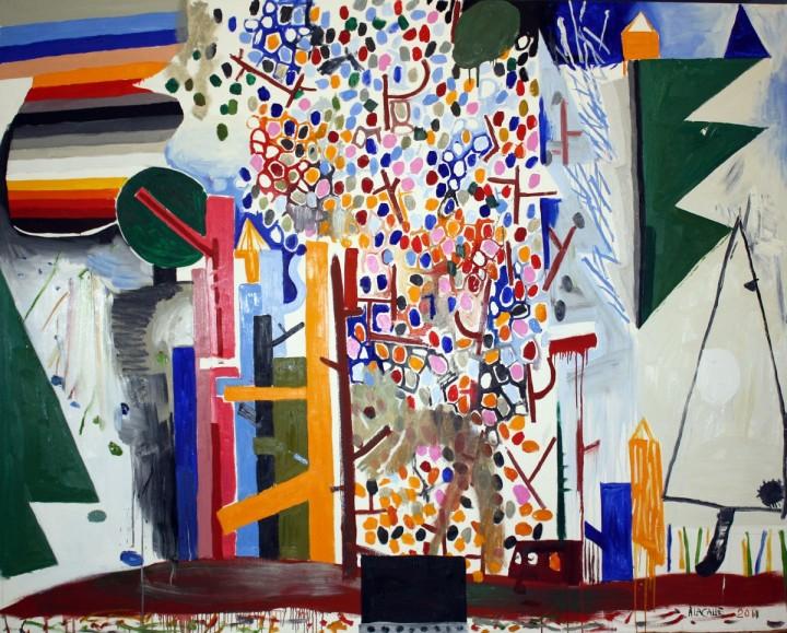 """En MÁLAGA, nos encontramos con la exposición de Abraham Lacalle que tendrá lugar en el Centro de Arte Contemporáneo de Málaga a partir del viernes 16 de enero. En esta exposición se podrán ver lienzos de gran formato y dibujos que abarcan una misma temática: los campos de batalla. A menudo, el artista Abraham Lacalle hace referencia a estas """"batallas"""" para elevar una crítica sobre la situación social actual."""