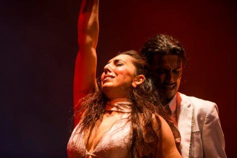 Empezando por MÁLAGA, para los amantes del flamenco recordamos que este martes 17 de febrero, comenzó la Gala Inaugural IV Bienal de Arte Flamenco, que finalizará en Septiembre. Pero este domingo 22 de febrero tenemos una cita en el Teatro Cervantes de Málaga, a las 19:00h de la tarde, con la compañía flamenca de Antonio de Verónica y Saray Cortés, en un espectáculo en el que se fusionará la alta costura y el flamenco más puro.