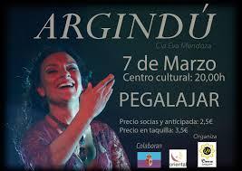Este sábado a las 20:00h  en la casa de la cultura del municipio jienense de Pegalajar la Asociación de Mujeres Oriental y EM Danza representará, con motivo de la celebración del Día de la Mujer, ARGINDÚ