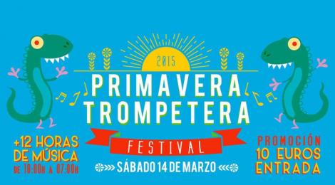 El sábado 14 tiene lugar en Jerez la primera edición del Primavera Trompetera Festival.