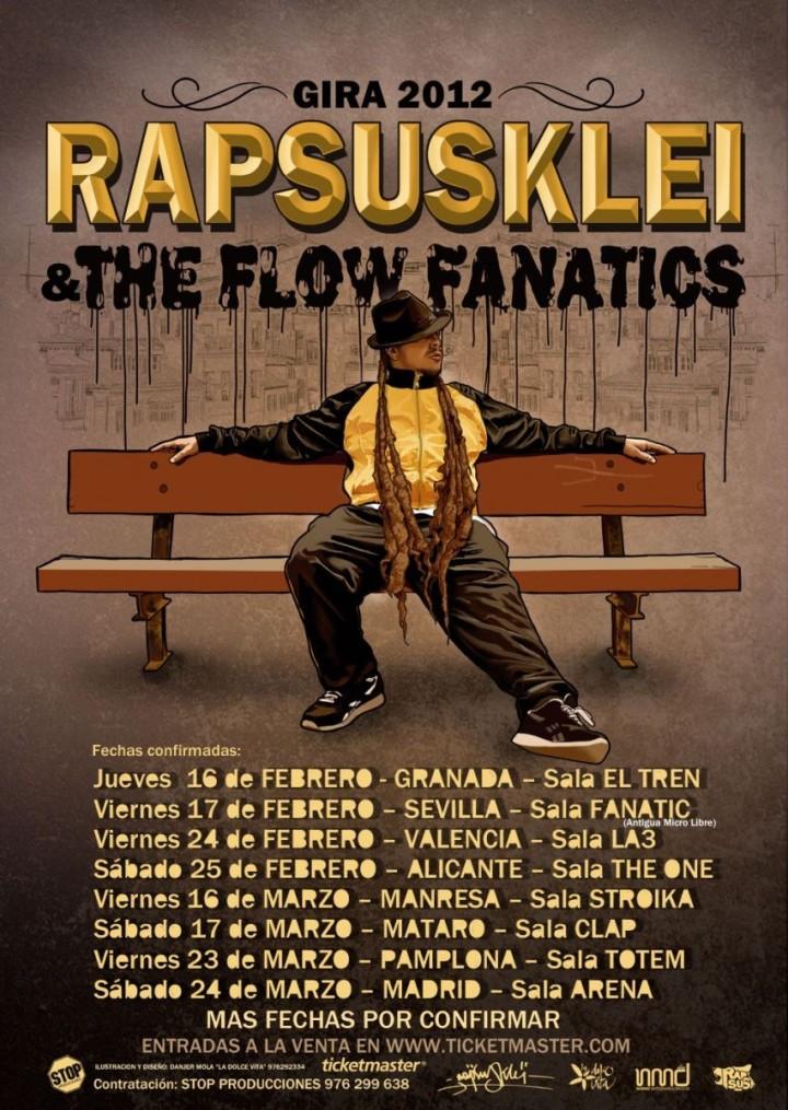 El rapero Rapsusklei actuará en Granada este sábado