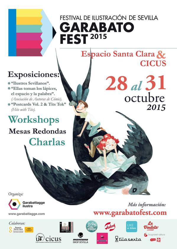 En Sevilla se celebra la tercera edición de Garabato Fest, entre los días 28 y 31 de Octubre.