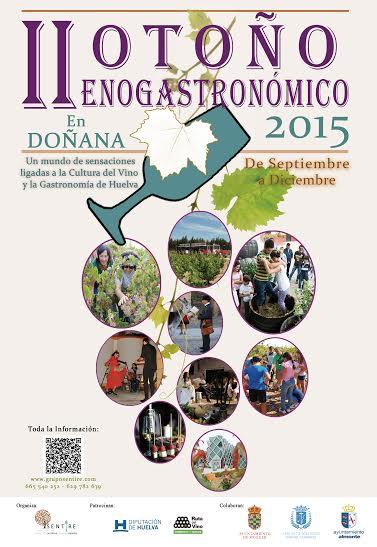 En la provincia de Huelva se celebra la segunda edición de Otoño Enogastronómico en Doñana.