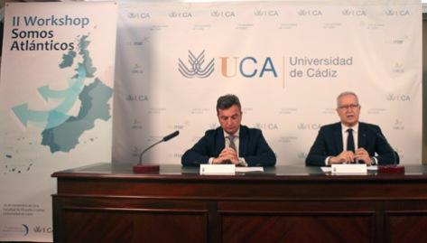 """La universidad de Cádiz acogerá el próximo veintiséis de noviembre el II WorkShop """"Somos Atlántico""""."""