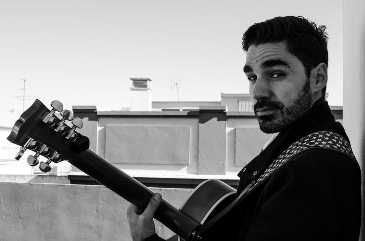 Miguelo Delgado. Fotografía realizada por Nuria Sánchez