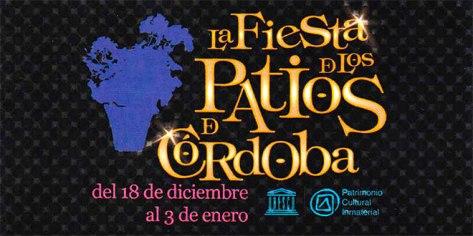 En Córdoba capital se celebra la Fiesta en los Patios de Navidad. Del 18 de diciembre al tres de Enero de 2016.