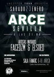 El concierto que ofrece el Rapero Arce en Sevilla