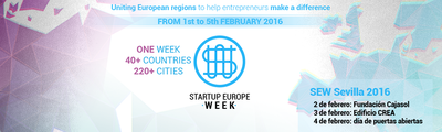 Start Up Europe Weeks, evento impulsado por la Comisión Europea