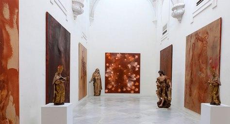 Exposición el presente en el pasado en Sevilla.